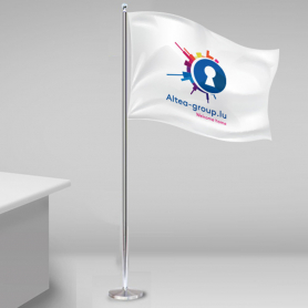 Flag Skrivebordsstænger
