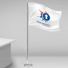 Flaggor Stolpar
