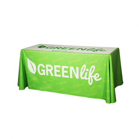 Advertising tablecloth