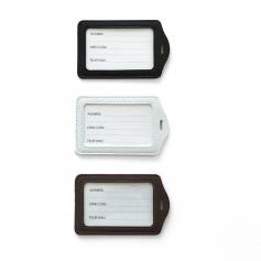 Porte badge rigide - Simili cuir