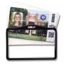 Porte badge rigide