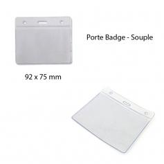 Porta badge - flessibile