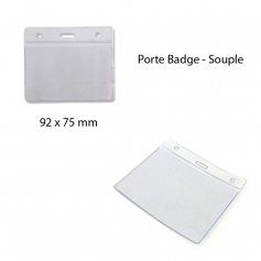Portes badges - souple
