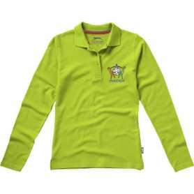 Nevada Damen Langarm Poloshirt