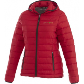 Women's Jersey quilted down jacket