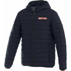 Jersey padded jacket