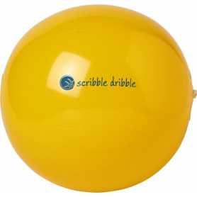 Massiver Ton-Strandball