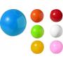Solid Clay Beach Ball