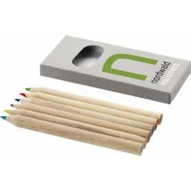 Conjunto de 6 lápis de cor Jackson