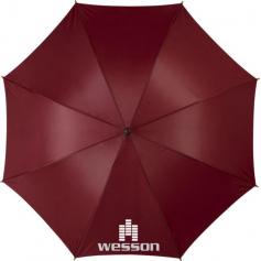 "Johnson 23 ""self-opening umbrella, wooden handle and pole"