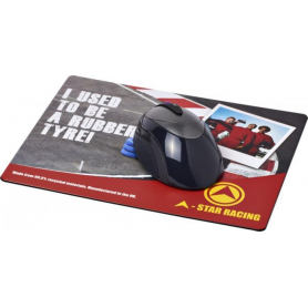 Alfombrilla de ratón Uinta con material de neumático
