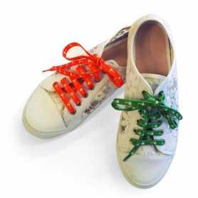 Lacet de chaussure publicitaire