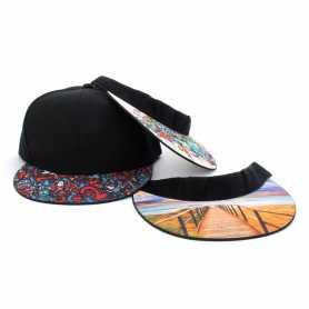 Cappellino con visiera personalizzabile