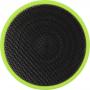 Brun cylindrisk Bluetooth®-højttaler med gummibelægning