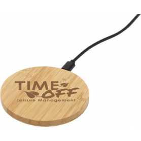 Cargador de inducción de bambú chippewa