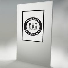 Cornice Clic-Clac bordo nero