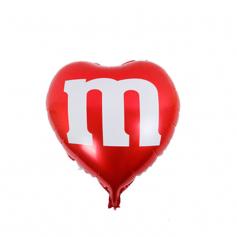 2D Rund Mylar Ballon