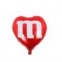 2D Hart Mylar-ballon