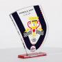 """Toledo"" curved trophy plaque"