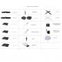 Accessoires voor windvlaggen / Oriflammes