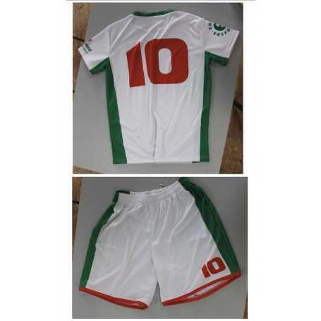 Sublimated FOOTBALL t-shirts and shorts
