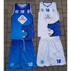 Camisetas y shorts de BASKETBALL sublimados