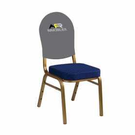 Cubierta trasera de la silla