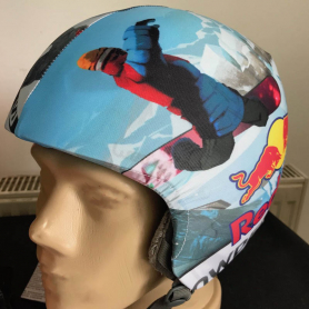 Custom helmet cover