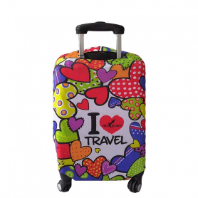 Personalized suitcase cover