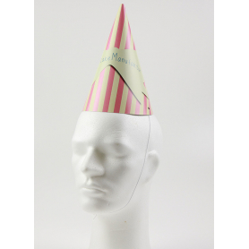 Pointed cardboard hats