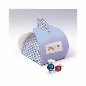 Caixa Elegance - Personalizada com 1 Leite Lindor ou Preto 45%