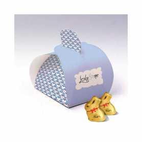 Caixa Elegance - Personalizada com 1 Mini Coelho