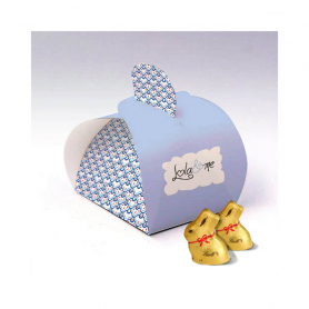 Caja Elegance - Personalizada con 1 Mini Conejo