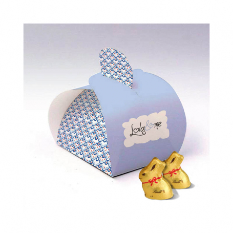 Elegance Box - Personalized with 1 Mini Rabbit