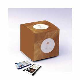 Caja Cube - Personalizada con 10 Mini Excellence Milk o Dark 70%
