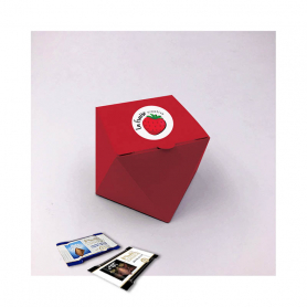 Marquise Box - Personalisiert mit 10 Mini Excellence Milk oder Dark 70%
