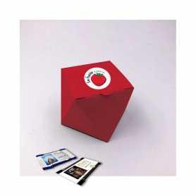 Scatola Marquise - Personalizzata con 10 Mini Excellence Milk o Dark 70%