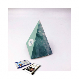 Pyramid Box - Personalized with 10 Mini Excellence Milk or Dark 70%