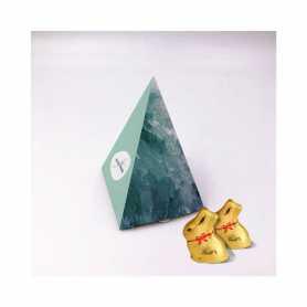 Boite Pyramide - Personnalisée avec 5 Mini Lapin