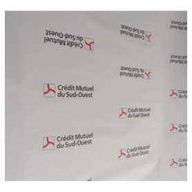 Nappe en Papier personnalisation logo