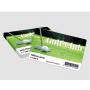 Customizable cards PVC satin varnish Blank only