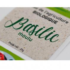 Etiquettes Grass Paper