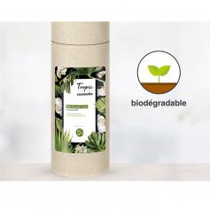 Etiquettes biodégradables Film cellulosique blanc