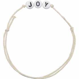 Bracelet personnalisable alphabet acrylique