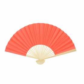 Eventail personnalisable en bambou et papier