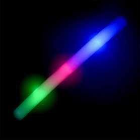 Bâton personnalisable en mousse avec LED