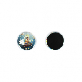 MAGNET BOUTON ROND - MADE IN FRANCE