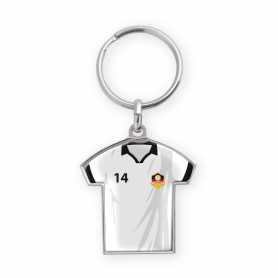 Porte-clés personnalisé zamac forme maillot