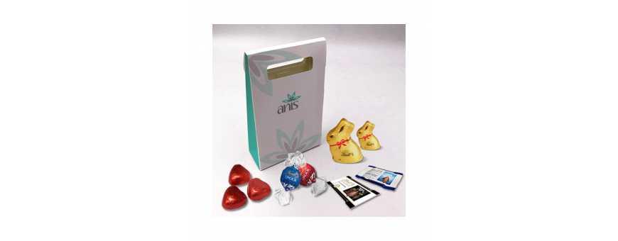 Delicatesse Box - Gepersonaliseerd met Lindt-chocolaatjes