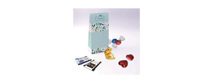 Bellows Box - Personalized with Lindt Chocolates